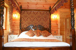 Luxury lodges in Wales