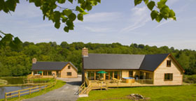 Willow and Bracken Lodges in Somerset