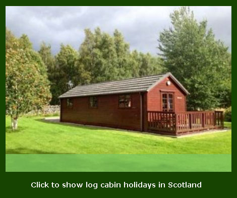 luxurious log cabins to rent in scoland for holidays