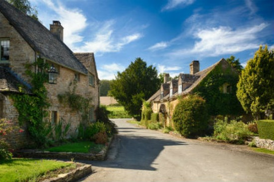 Cotswolds in England